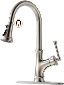 5. APPASO Pull Down Kitchen Faucet